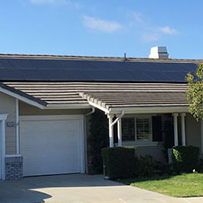 Solar Panels Installed on Home Roof